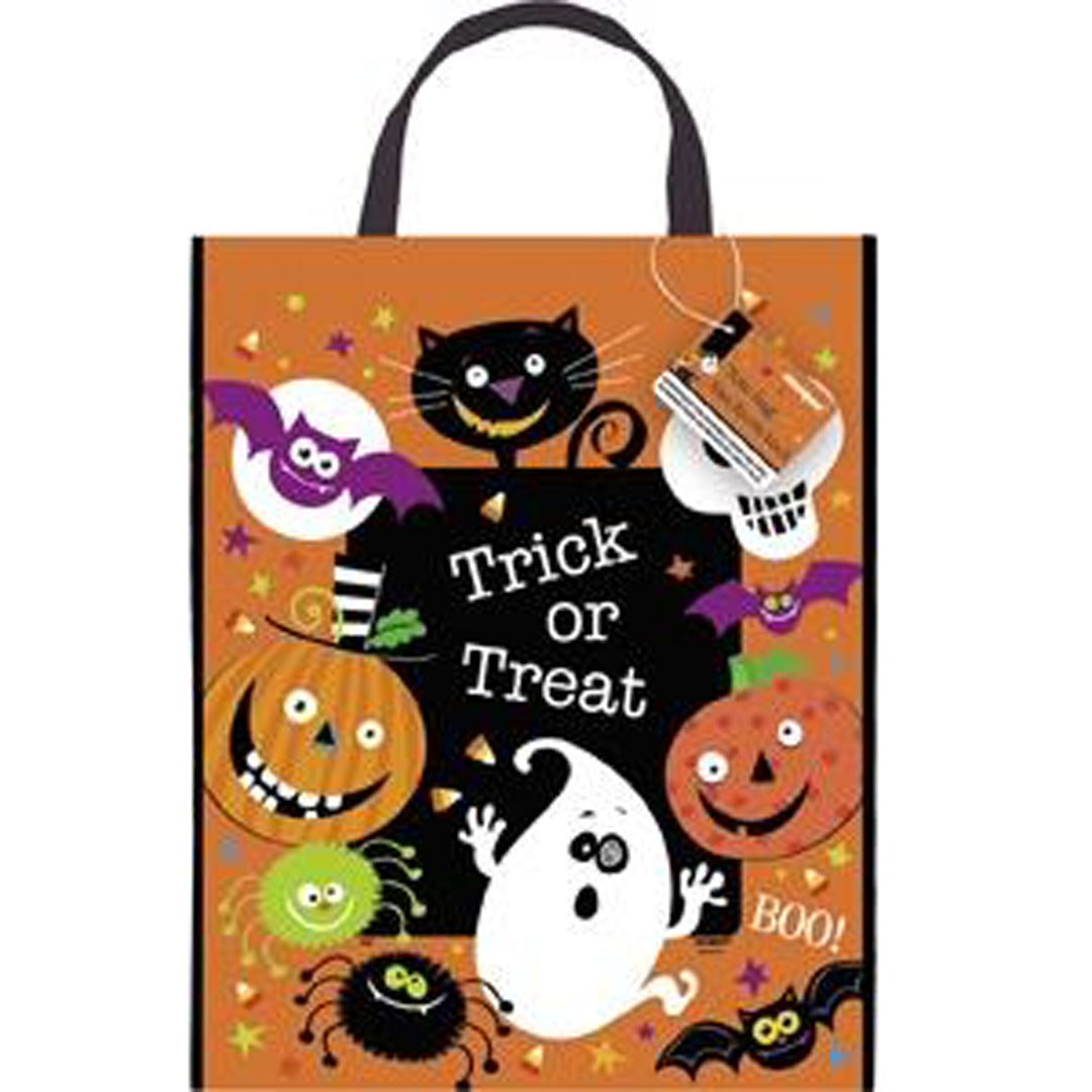 SPOOKY SMILES TOTE BAG from Flingers Party World Bristol Harbourside who offer a huge range of fancy dress costumes and partyware items