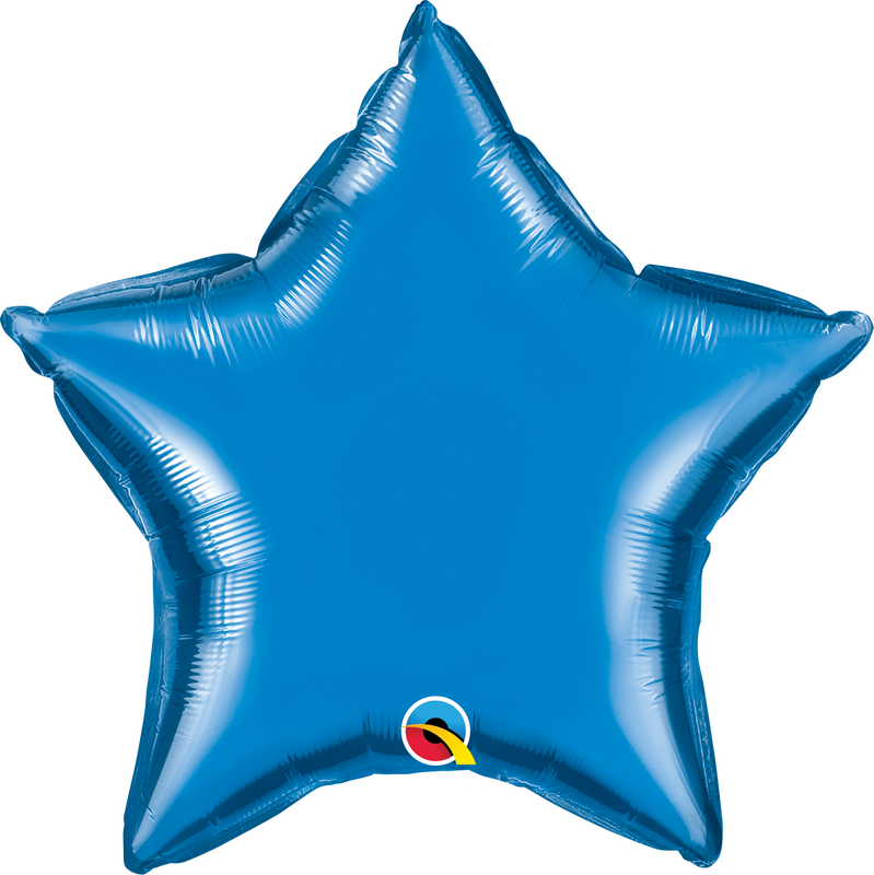SAPPHIRE BLUE STAR FOIL from Flingers Party World Bristol Harbourside who offer a huge range of fancy dress costumes and partyware items
