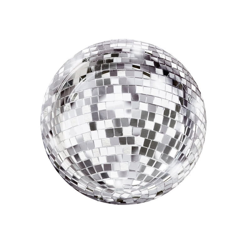 DISCO BALL PAPER PLATES from Flingers Party World Bristol Harbourside who offer a huge range of fancy dress costumes and partyware items