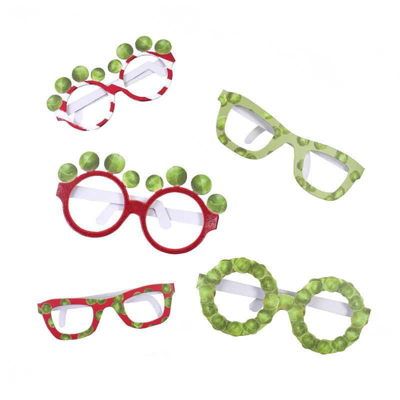 BOTANICAL CHRISTMAS SPROUT GLASSES from Pop Cloud Bristol www.popcloud.co.uk who offer a huge range of partyware, wedding and event hire decorations