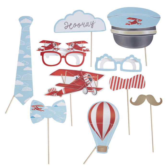 FLYING HIGH PHOTO BOOTH PROPS from Flingers Party World Bristol Harbourside who offer a huge range of fancy dress costumes and partyware items