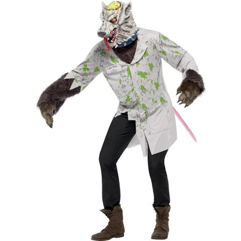 EXPERIMENT LAB RAT COSTUME from Flingers Party World Bristol Harbourside who offer a huge range of fancy dress costumes and partyware items