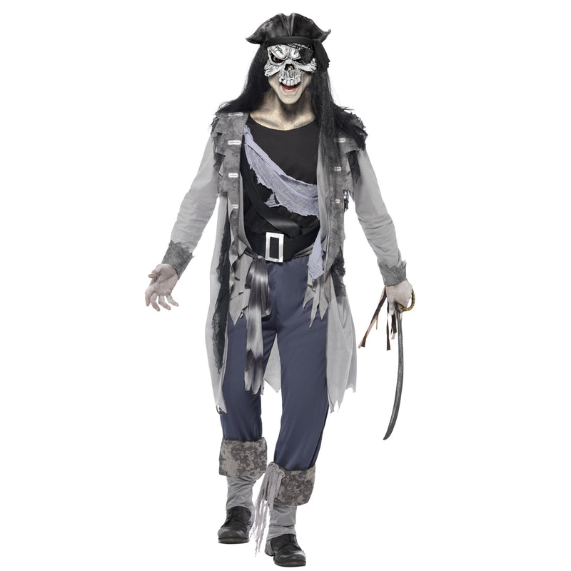 HAUNTED SWASHBUCKLER COSTUME from Flingers Party World Bristol Harbourside who offer a huge range of fancy dress costumes and partyware items