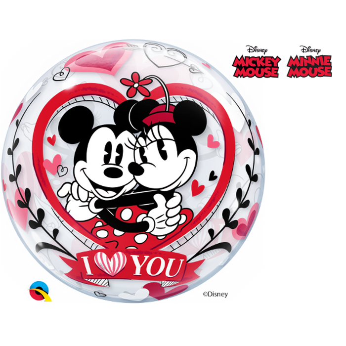 MINNIE & MICKEY BUBBLE BALLOON from Flingers Party World Bristol Harbourside who offer a huge range of fancy dress costumes and partyware items