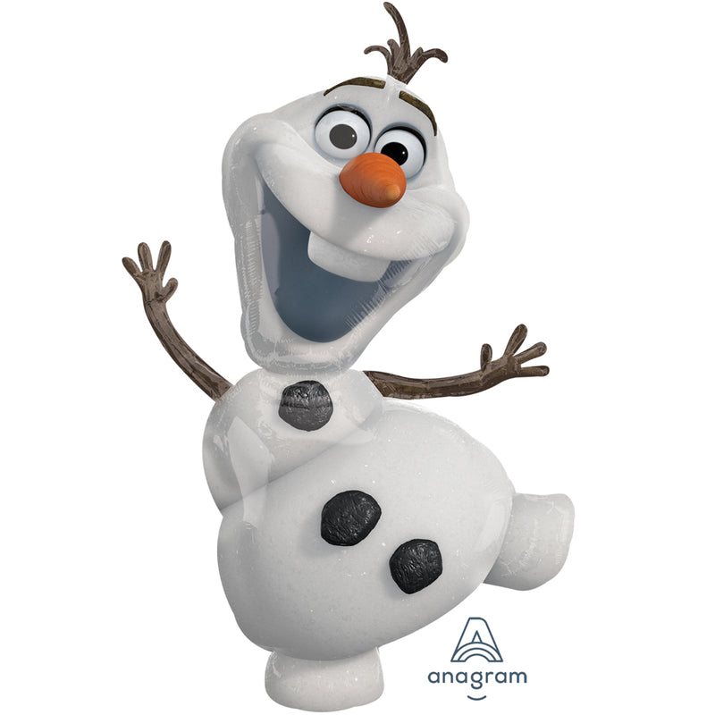 OLAF BALLOON from Flingers Party World Bristol Harbourside who offer a huge range of fancy dress costumes and partyware items