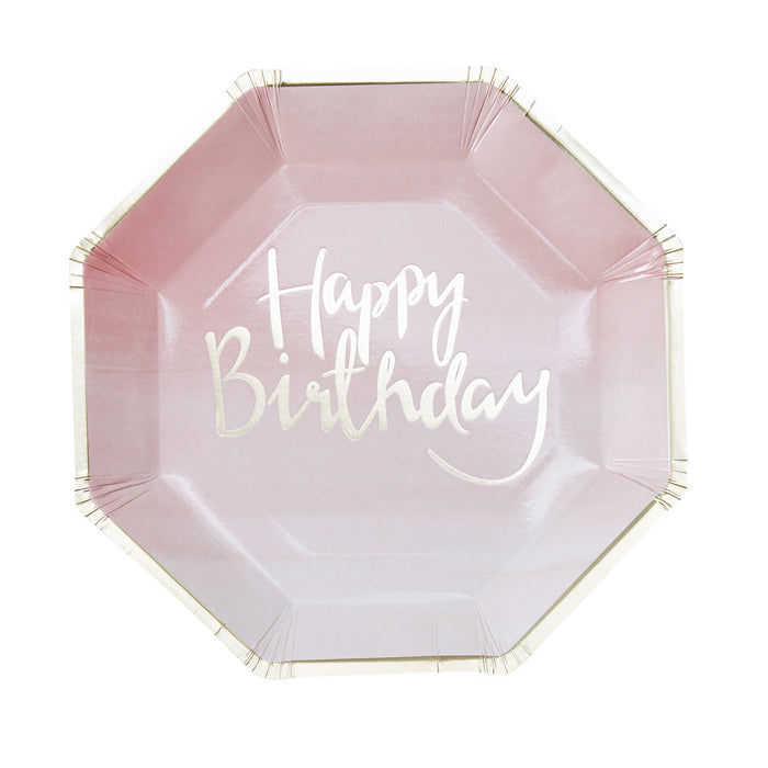 PICK AND MIX OMBRE PAPER PLATES from Flingers Party World Bristol Harbourside who offer a huge range of fancy dress costumes and partyware items