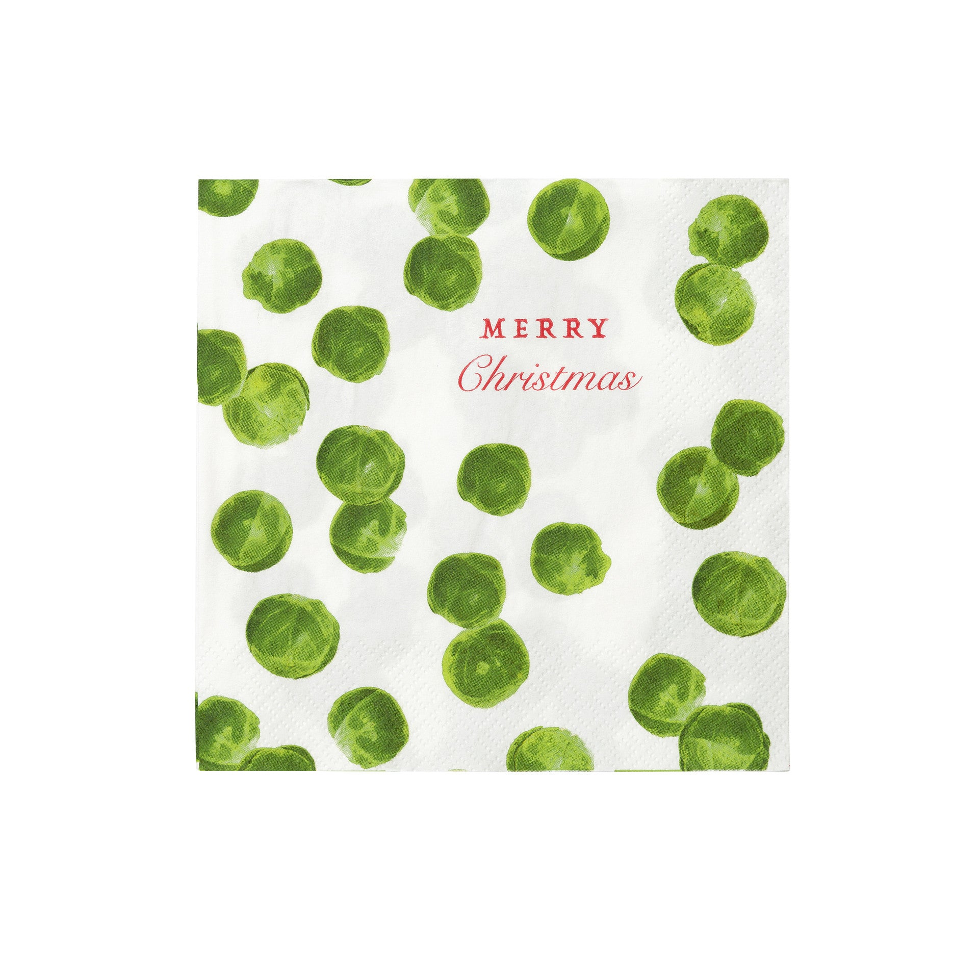 BOTANICAL CHRISTMAS SPROUT NAPKINS from Flingers Party World Bristol Harbourside who offer a huge range of fancy dress costumes and partyware items