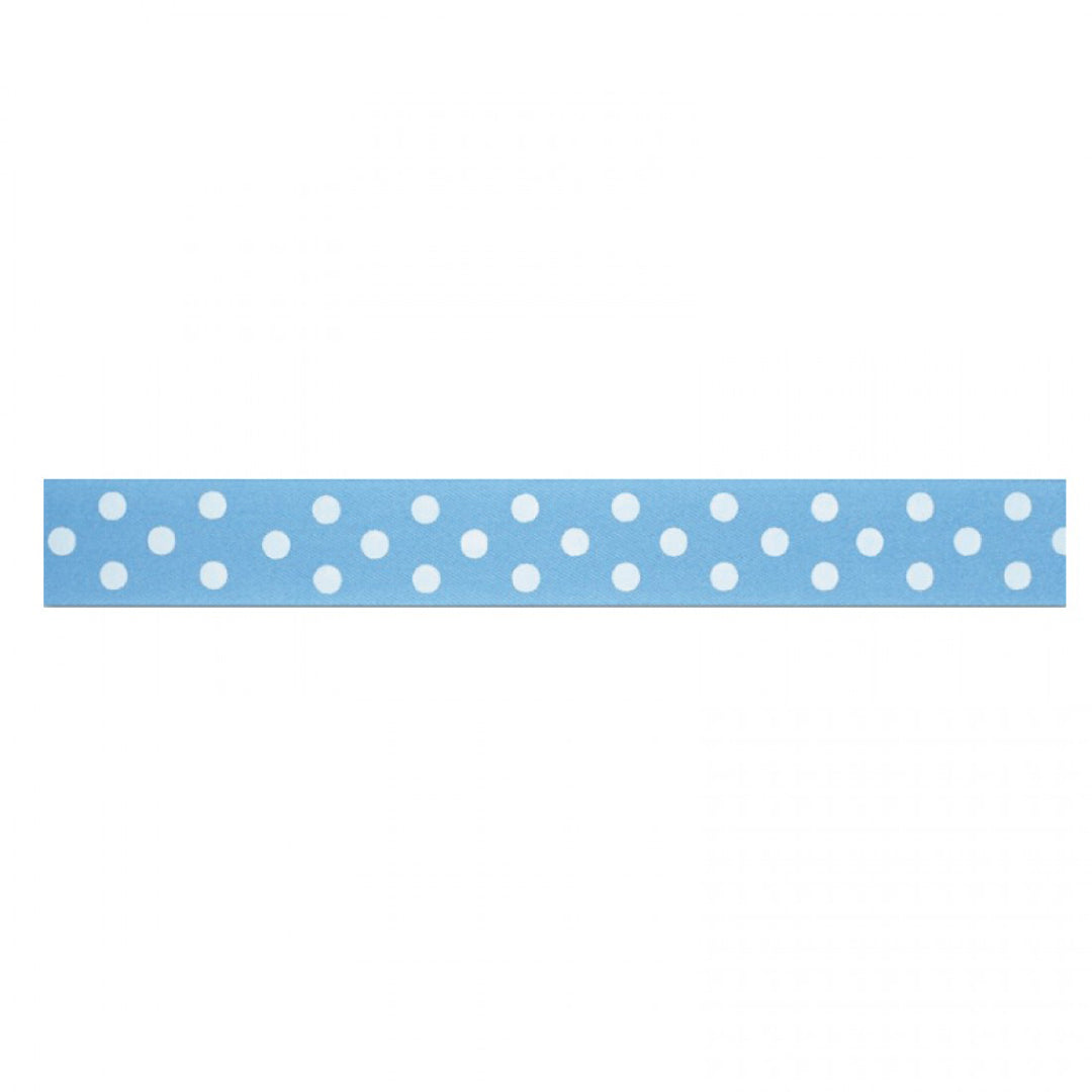 BAGGED BLUE POLKA DOT RIBBON from Flingers Party World Bristol Harbourside who offer a huge range of fancy dress costumes and partyware items