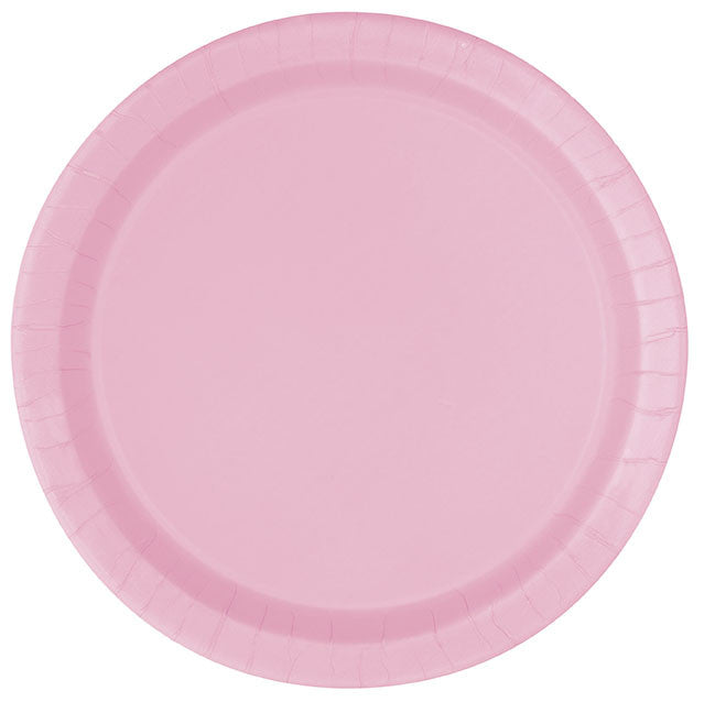 LOVELY PINK PLATES from Flingers Party World Bristol Harbourside who offer a huge range of fancy dress costumes and partyware items