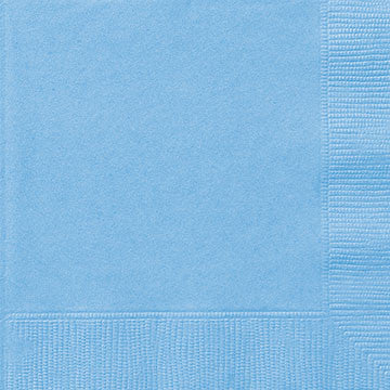 BLUE NAPKINS from Flingers Party World Bristol Harbourside who offer a huge range of fancy dress costumes and partyware items