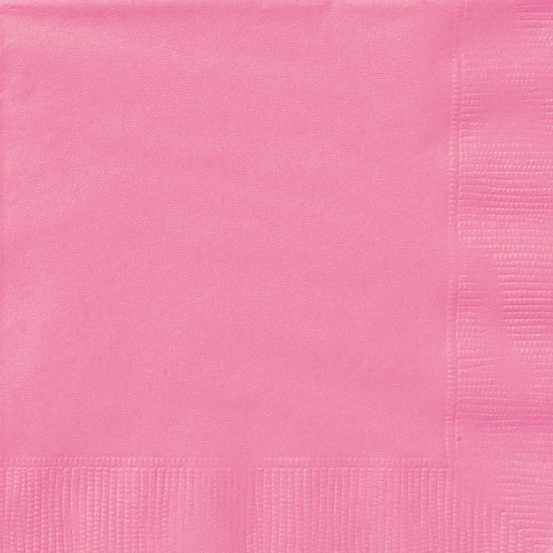 HOT PINK NAPKINS from Flingers Party World Bristol Harbourside who offer a huge range of fancy dress costumes and partyware items