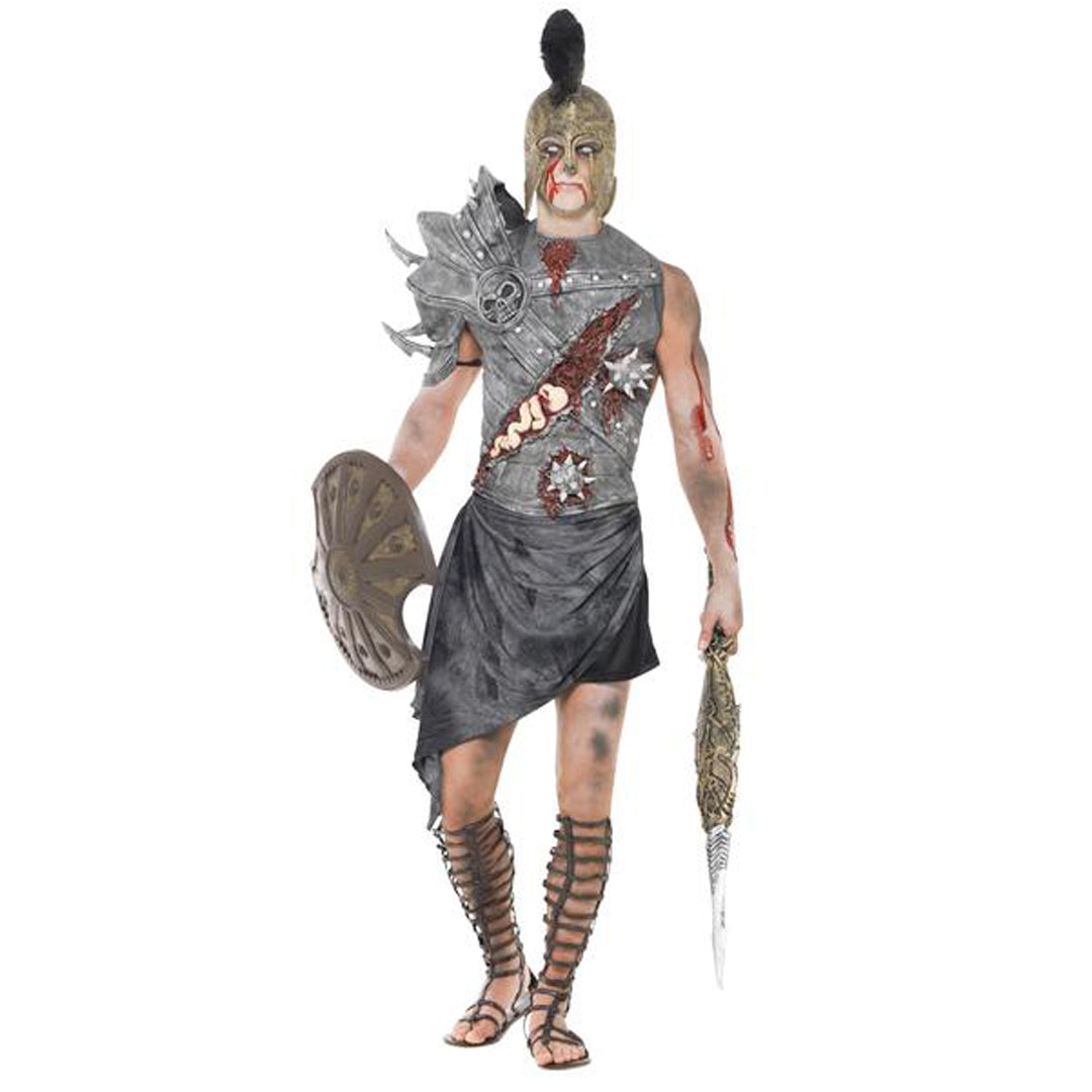 ZOMBIE GLADIATOR COSTUME from Flingers Party World Bristol Harbourside who offer a huge range of fancy dress costumes and partyware items