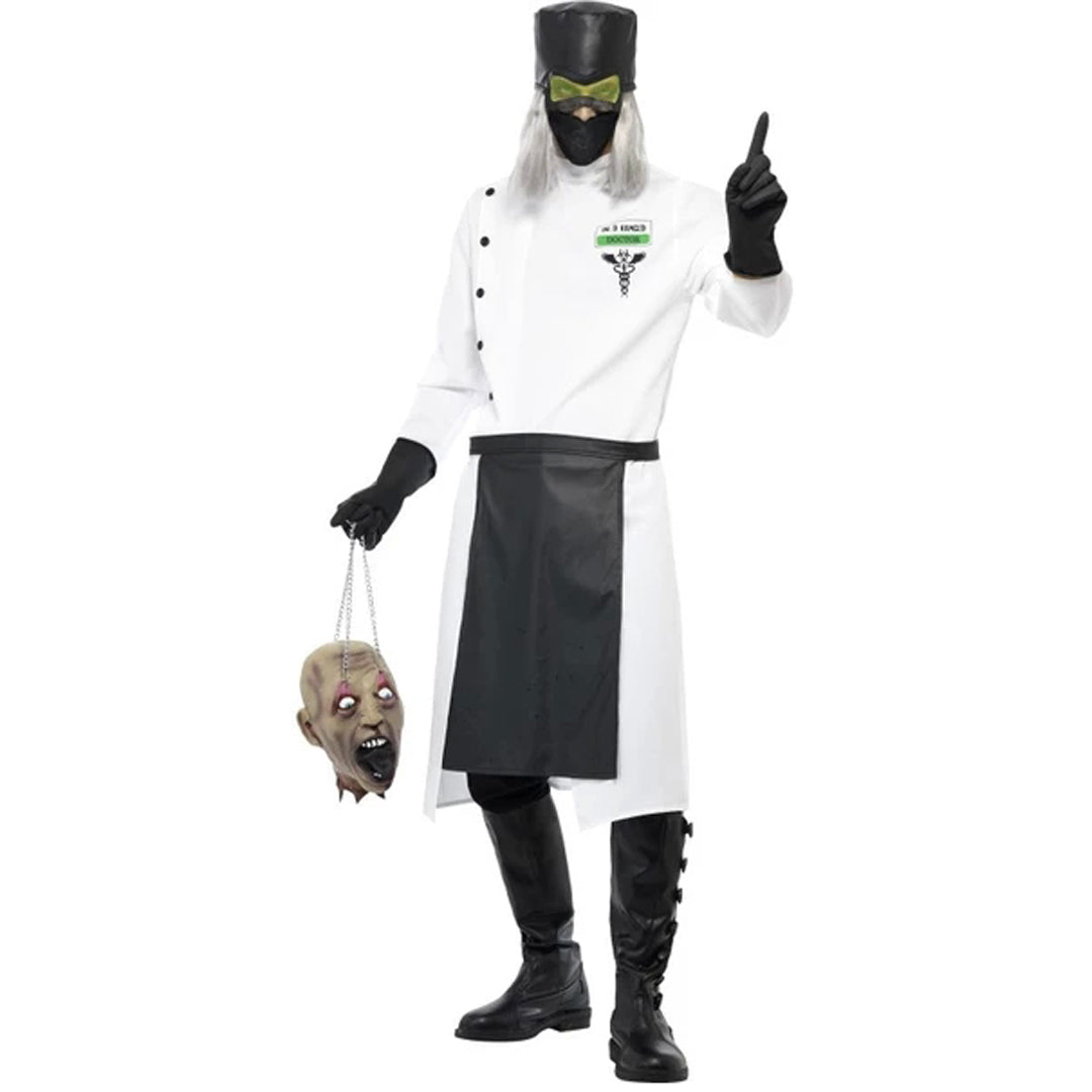 DR D.RANGED COSTUME from Flingers Party World Bristol Harbourside who offer a huge range of fancy dress costumes and partyware items