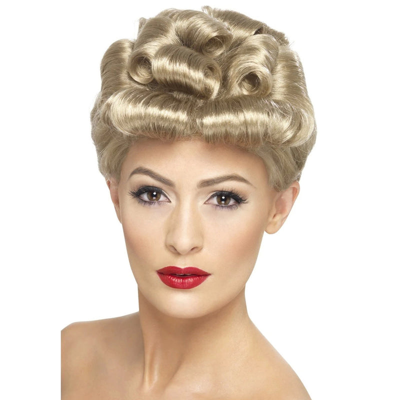 40'S VINTAGE WIG from Flingers Party World Bristol Harbourside who offer a huge range of fancy dress costumes and partyware items