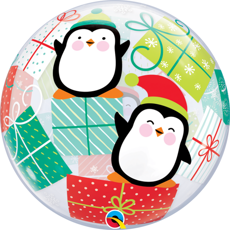 PENGUINS AND PRESENTS from Flingers Party World Bristol Harbourside who offer a huge range of fancy dress costumes and partyware items