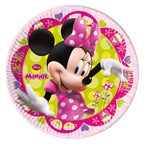 DISNEY MINNIE PARTY PAPER PLATES from Flingers Party World Bristol Harbourside who offer a huge range of fancy dress costumes and partyware items
