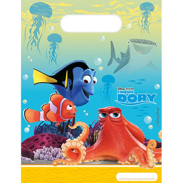 FINDING DORY PARTY BAGS from Flingers Party World Bristol Harbourside who offer a huge range of fancy dress costumes and partyware items