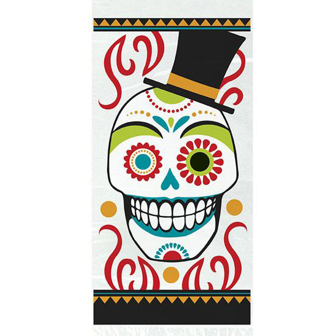 DAY OF DEAD CELLO BAGS from Flingers Party World Bristol Harbourside who offer a huge range of fancy dress costumes and partyware items