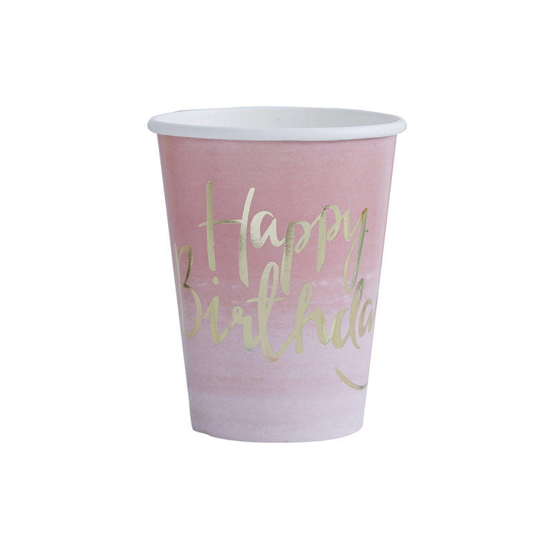 PICK AND MIX OMBRE PAPER CUPS from Flingers Party World Bristol Harbourside who offer a huge range of fancy dress costumes and partyware items