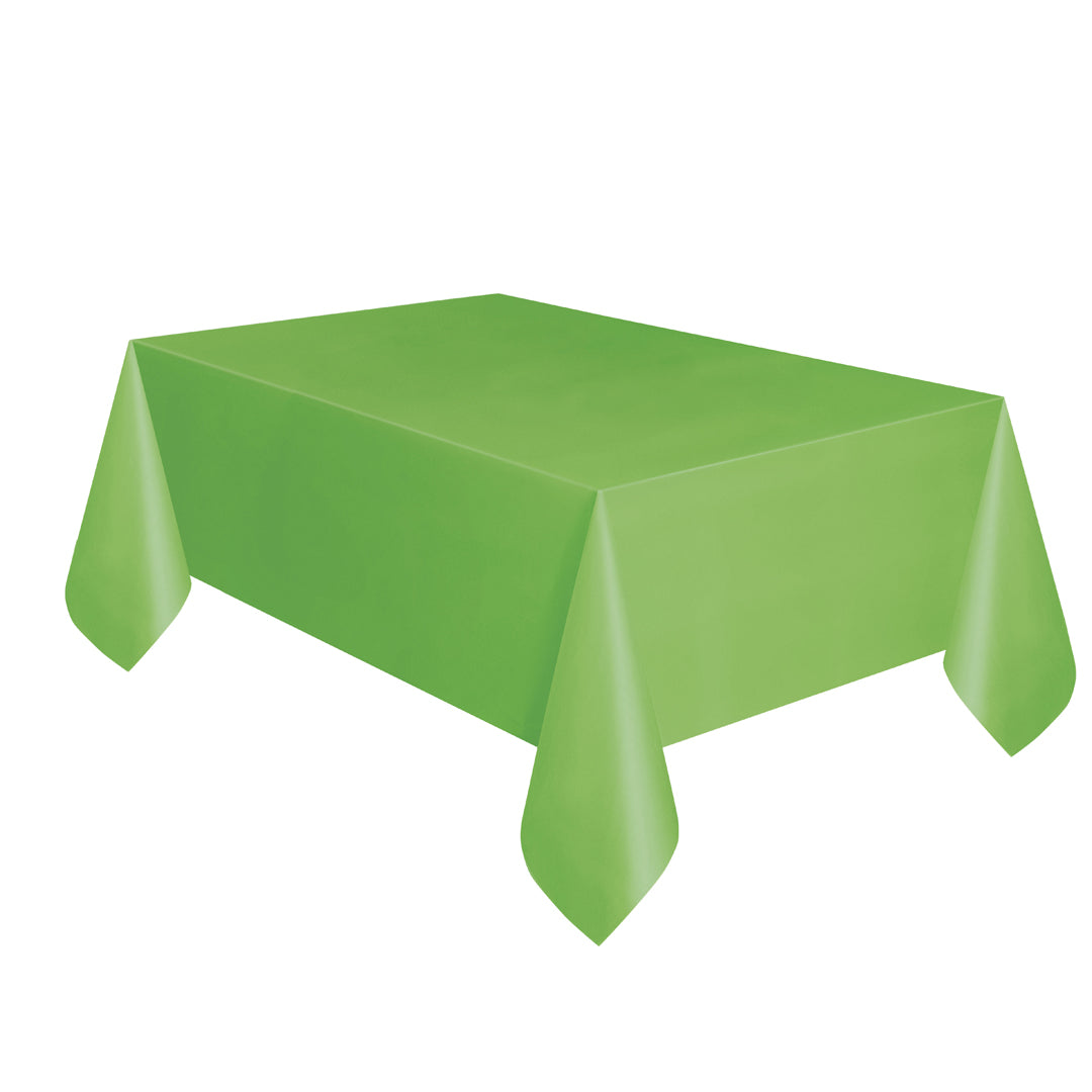 LIME GREEN TABLECOVER from Flingers Party World Bristol Harbourside who offer a huge range of fancy dress costumes and partyware items