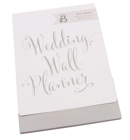Wedding Wallplanner from Pop Cloud Bristol who offer a huge range of partyware, wedding and event hire decorations
