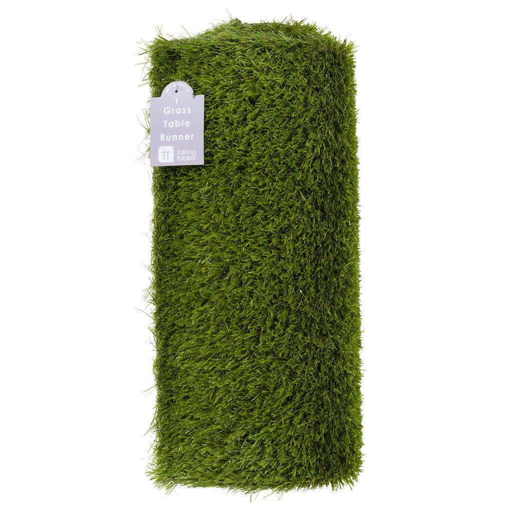 MIX & MATCH GRASS TABLE RUNNER from Flingers Party World Bristol Harbourside who offer a huge range of fancy dress costumes and partyware items