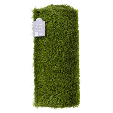 Mix & Match Grass Table Runner from Pop Cloud Bristol who offer a huge range of partyware, wedding and event hire decorations