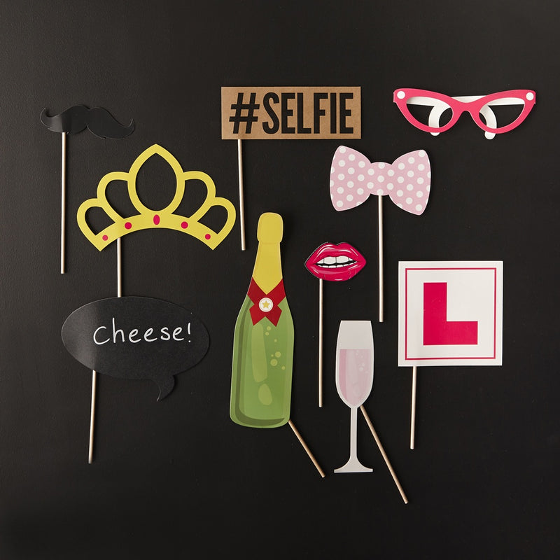 HEN PARTY PHOTOBOOTH PROPS from Flingers Party World Bristol Harbourside who offer a huge range of fancy dress costumes and partyware items