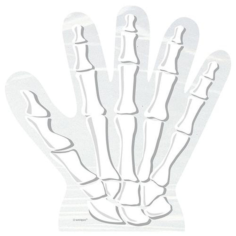 SKELETON HAND CELLO BAGS from Flingers Party World Bristol Harbourside who offer a huge range of fancy dress costumes and partyware items
