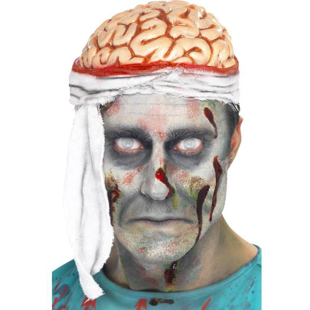 BANDAGE BRAIN HAT from Flingers Party World Bristol Harbourside who offer a huge range of fancy dress costumes and partyware items