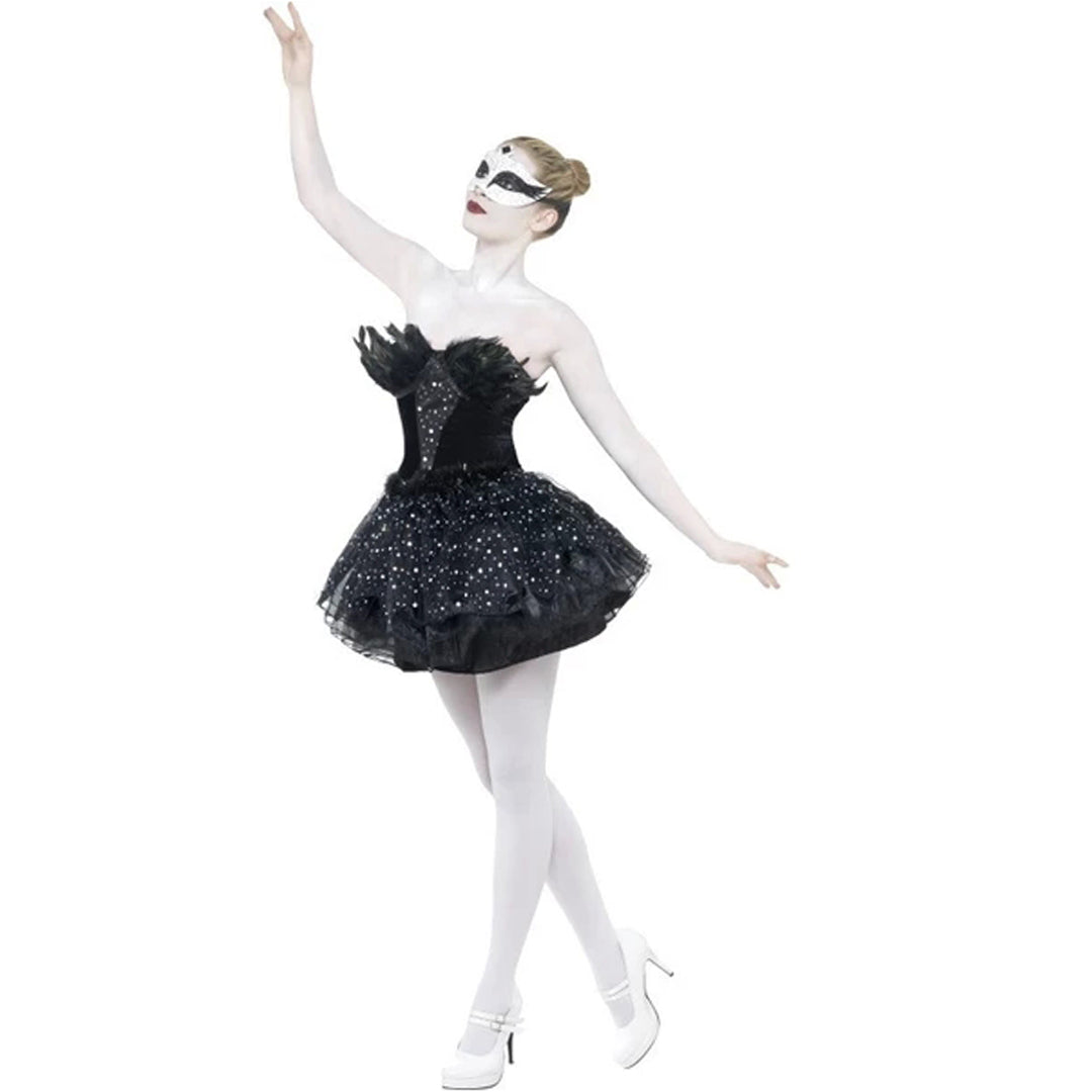 GOTHIC SWAN from Flingers Party World Bristol Harbourside who offer a huge range of fancy dress costumes and partyware items