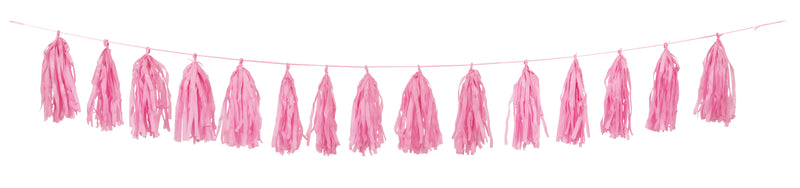 PINK TASSEL GARLAND from Flingers Party World Bristol Harbourside who offer a huge range of fancy dress costumes and partyware items