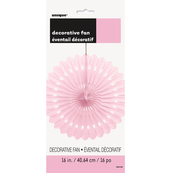 PINK DECORATIVE FAN from Flingers Party World Bristol Harbourside who offer a huge range of fancy dress costumes and partyware items