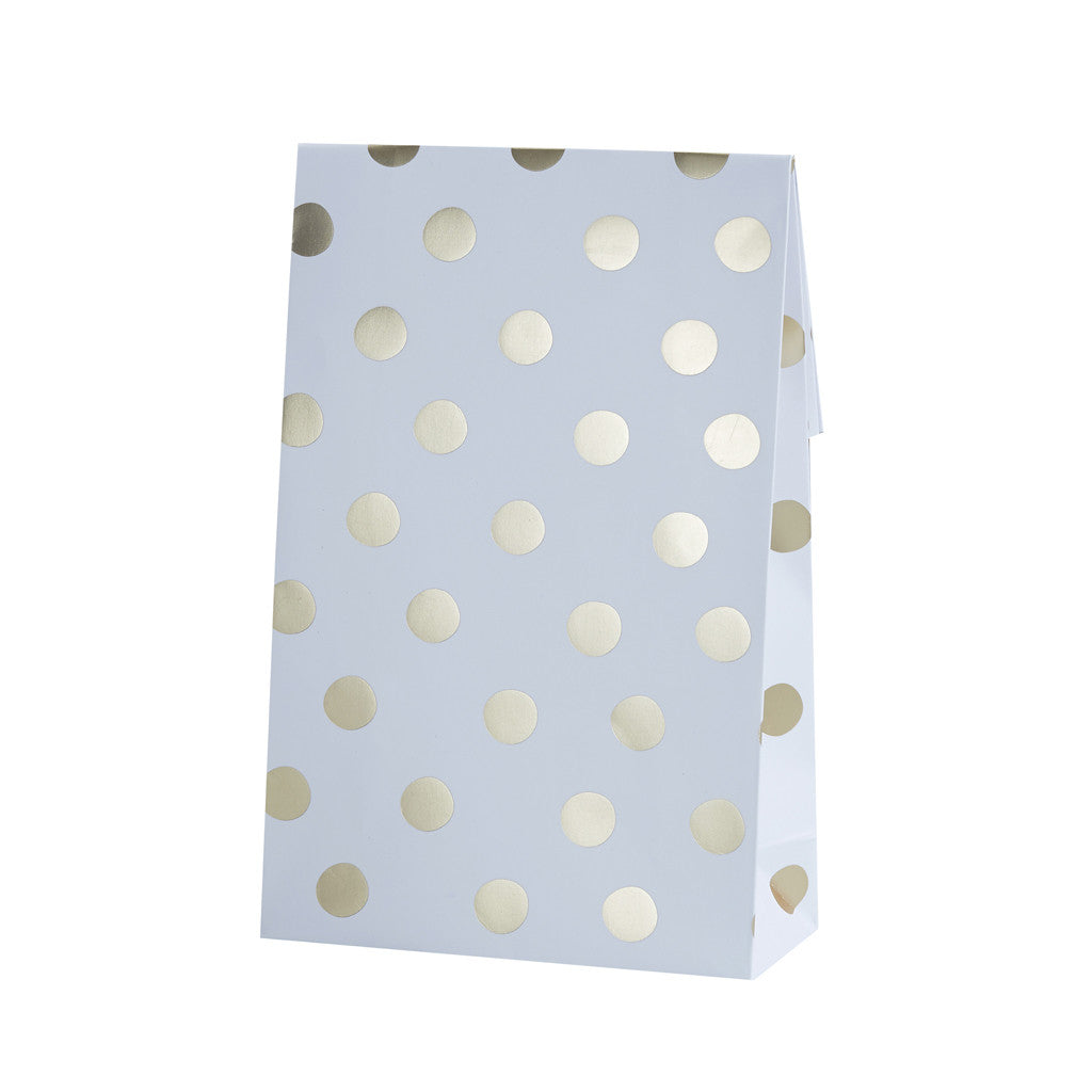 Pick & Mix Polka Dot Party Bags from Pop Cloud Bristol who offer a huge range of partyware, wedding and event hire decorations