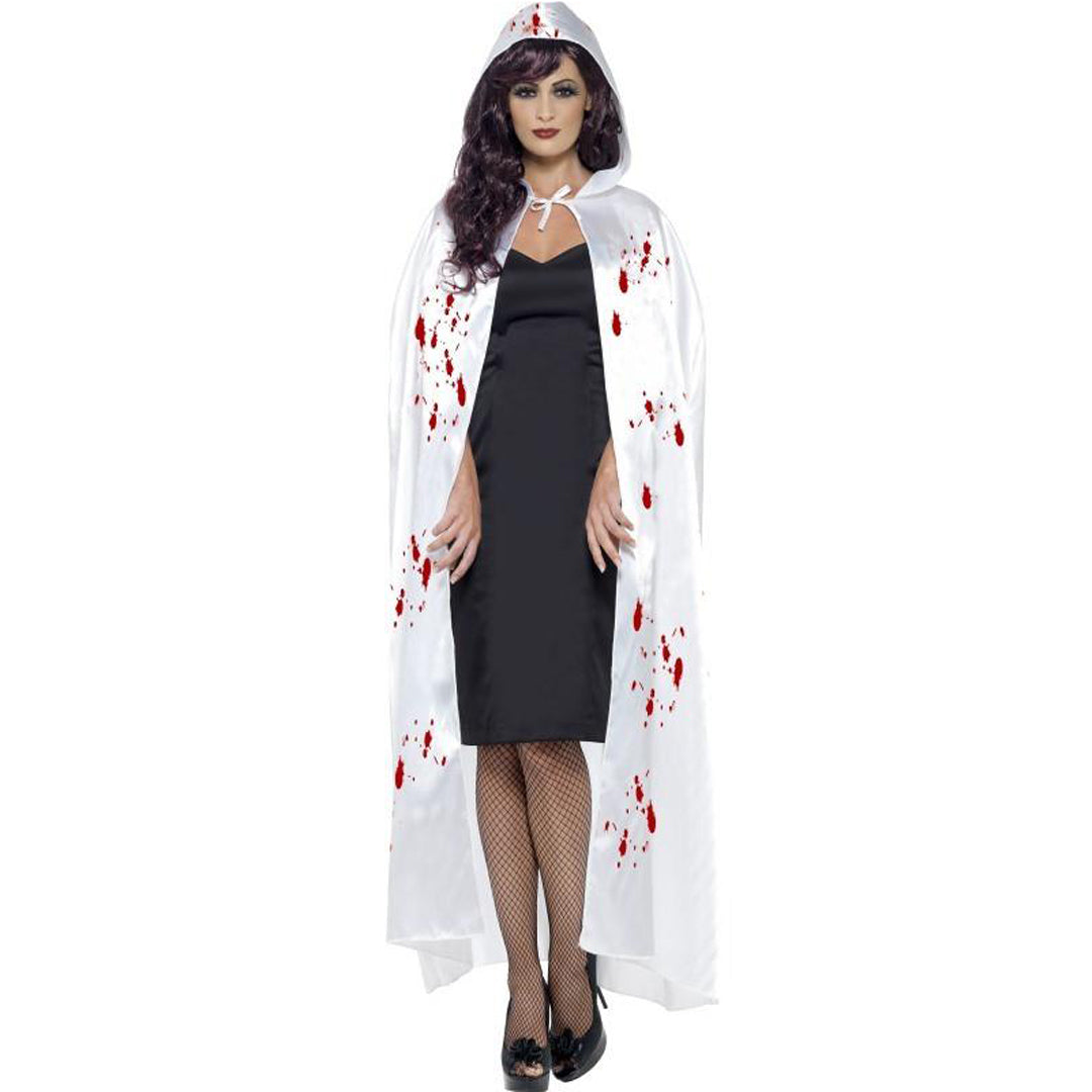 CARNAGE CAPE WITH BLOOD SPLATTER from Flingers Party World Bristol Harbourside who offer a huge range of fancy dress costumes and partyware items