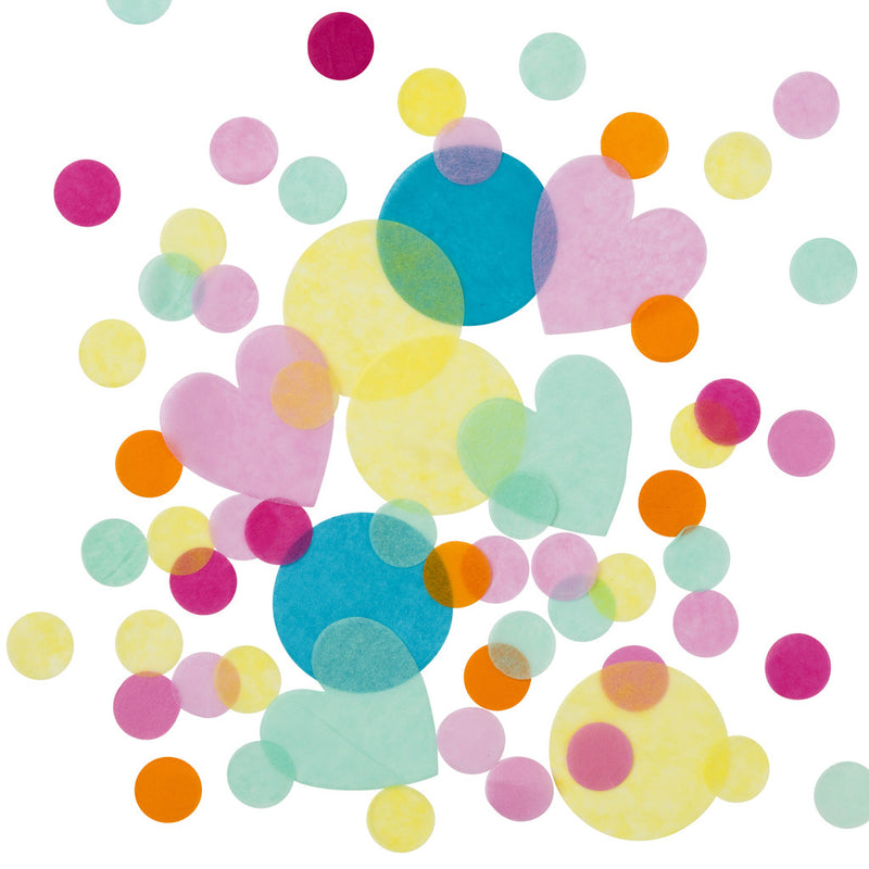 Be Happy Confetti from Pop Cloud Bristol who offer a huge range of partyware, wedding and event hire decorations
