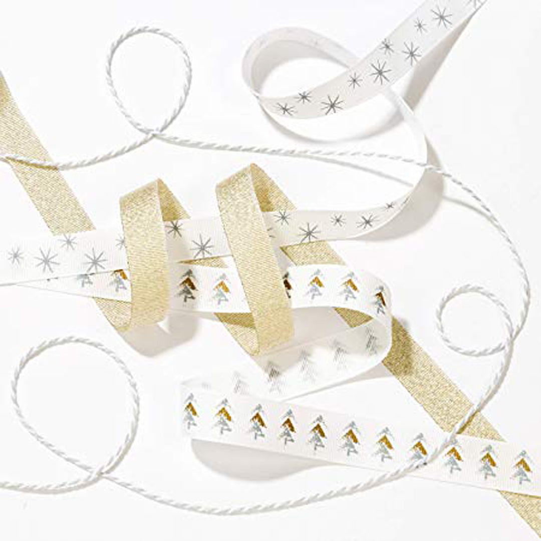 NORDIC CHRISTMAS RIBBON & TWINE from Flingers Party World Bristol Harbourside who offer a huge range of fancy dress costumes and partyware items
