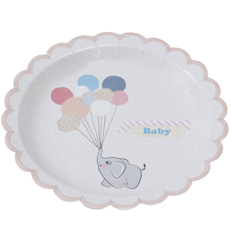 LITTLE ONE PAPER PLATES from Flingers Party World Bristol Harbourside who offer a huge range of fancy dress costumes and partyware items