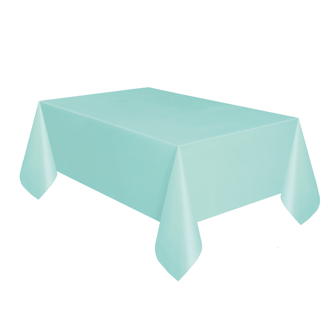 MINT GREEN TABLECOVER from Flingers Party World Bristol Harbourside who offer a huge range of fancy dress costumes and partyware items
