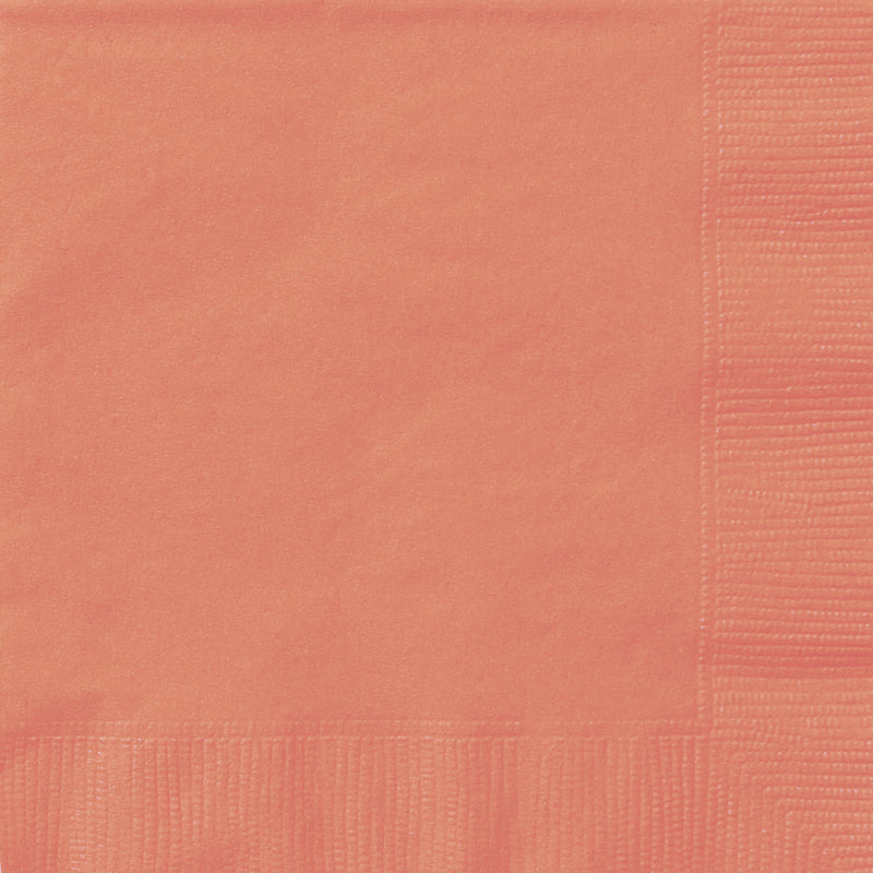 CORAL NAPKIN from Flingers Party World Bristol Harbourside who offer a huge range of fancy dress costumes and partyware items