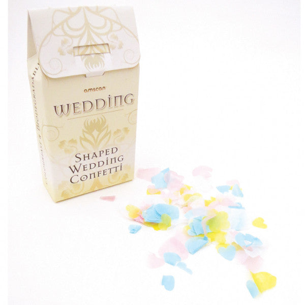 Rustic Wed Paper Thro Confetti from Pop Cloud Bristol who offer a huge range of partyware, wedding and event hire decorations