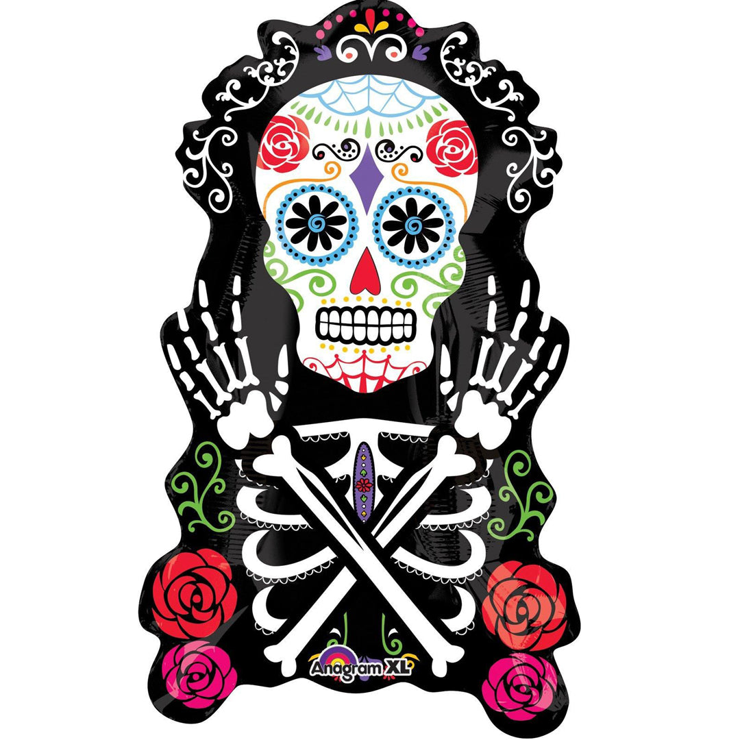 FESTIVAL OF THE DEAD SUPERSHAPE FOIL from Flingers Party World Bristol Harbourside who offer a huge range of fancy dress costumes and partyware items