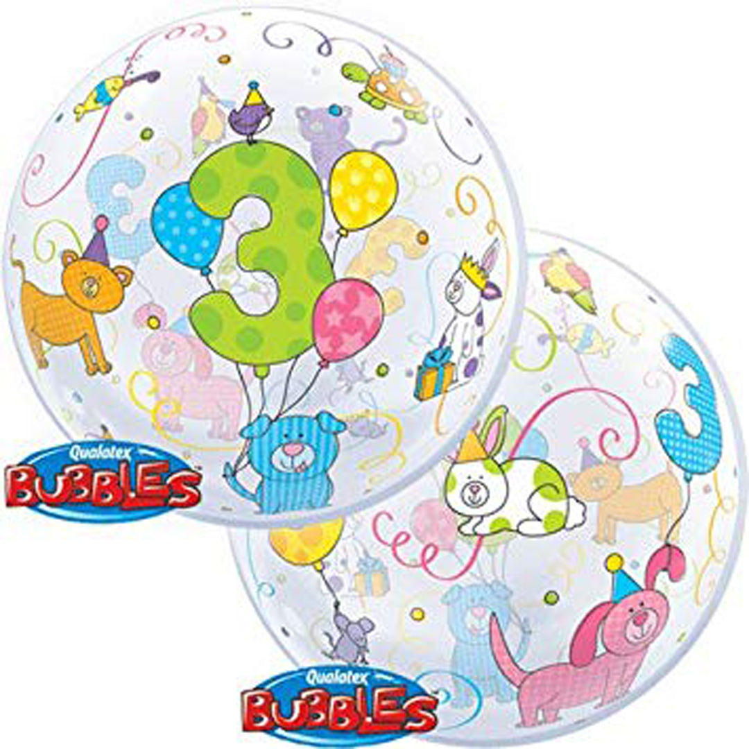 AGE 3 CUDDLY PETS BUBBLE from Flingers Party World Bristol Harbourside who offer a huge range of fancy dress costumes and partyware items