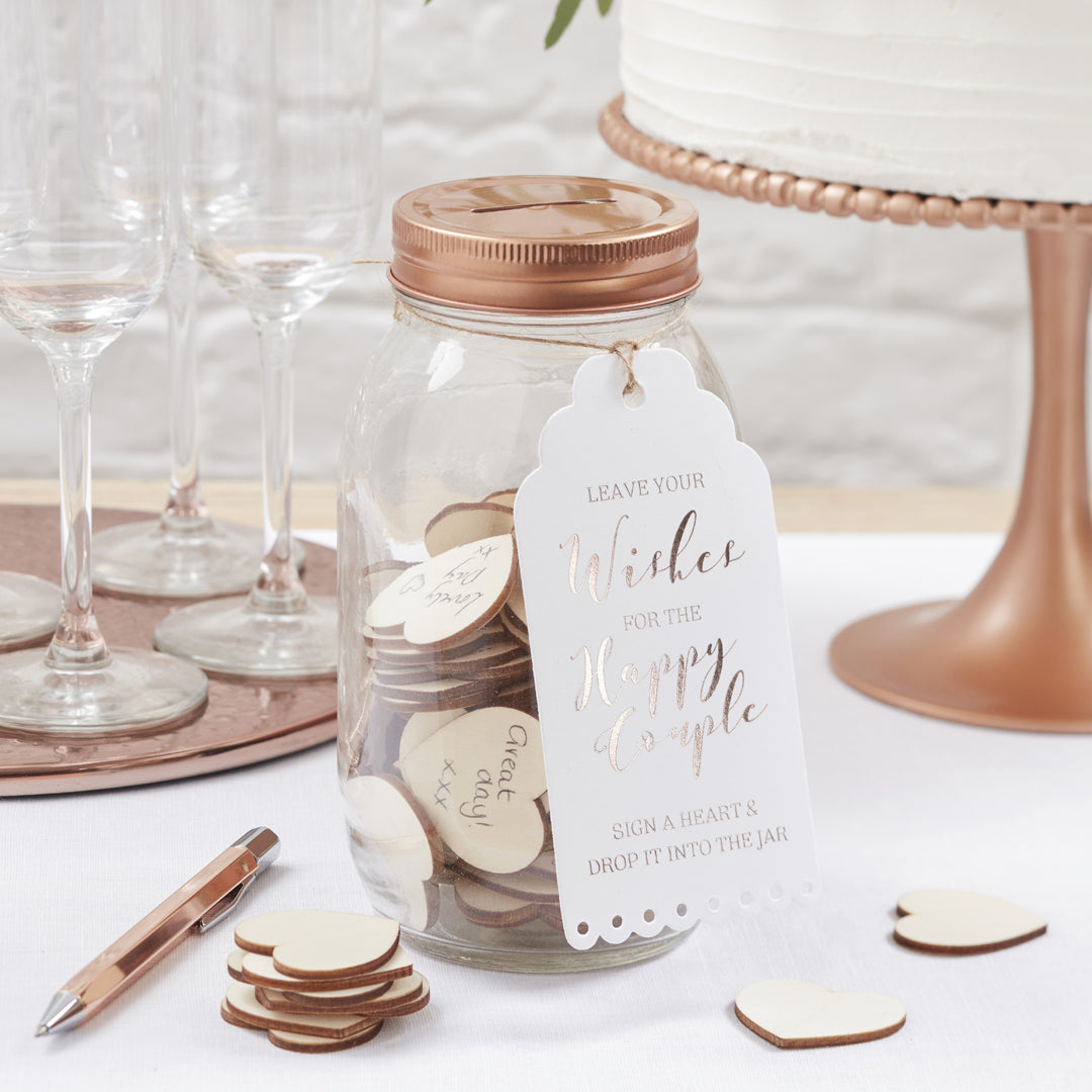 BEAUTIFUL BOTANICS WISHING JAR GUEST BOOK from Flingers Party World Bristol Harbourside who offer a huge range of fancy dress costumes and partyware items