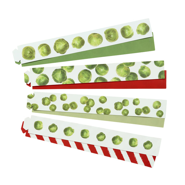 BOTANICAL CHRISTMAS SPROUT PAPER CHAINS from Flingers Party World Bristol Harbourside who offer a huge range of fancy dress costumes and partyware items