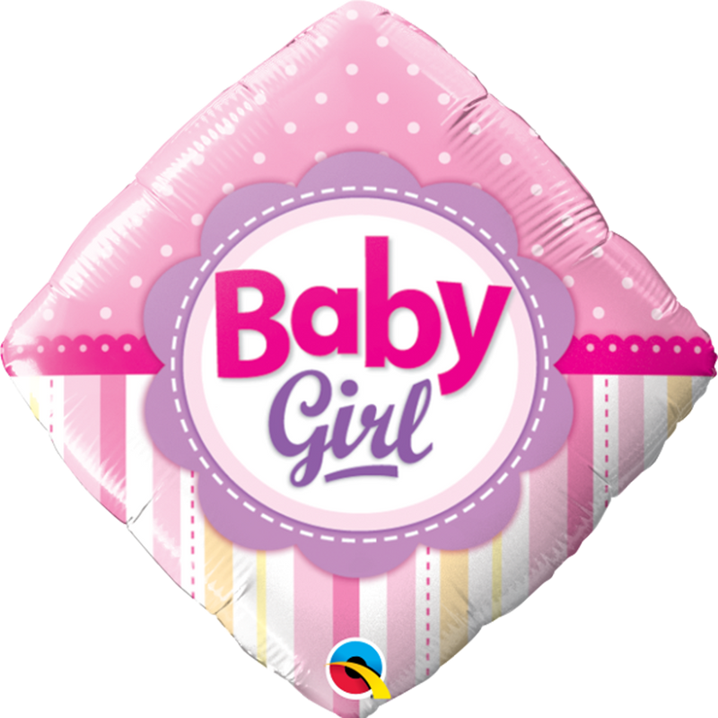 BABY GIRL DOTS & STRIPES from Flingers Party World Bristol Harbourside who offer a huge range of fancy dress costumes and partyware items