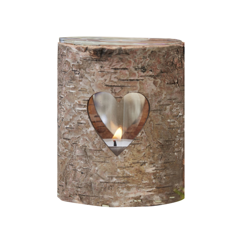 WOODEN HEART TEALIGHT HOLDER from Flingers Party World Bristol Harbourside who offer a huge range of fancy dress costumes and partyware items
