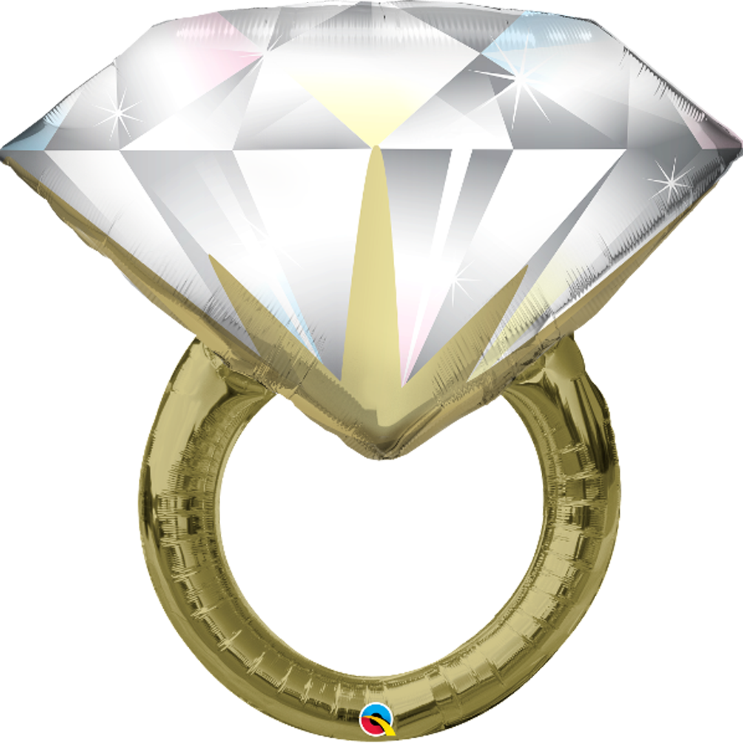 DIAMOND WEDDING RING from Flingers Party World Bristol Harbourside who offer a huge range of fancy dress costumes and partyware items