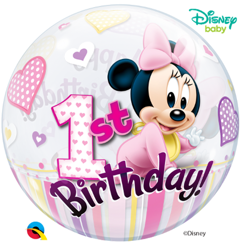 DISNEY MINNIE MOUSE 1ST BIRTHDAY from Flingers Party World Bristol Harbourside who offer a huge range of fancy dress costumes and partyware items