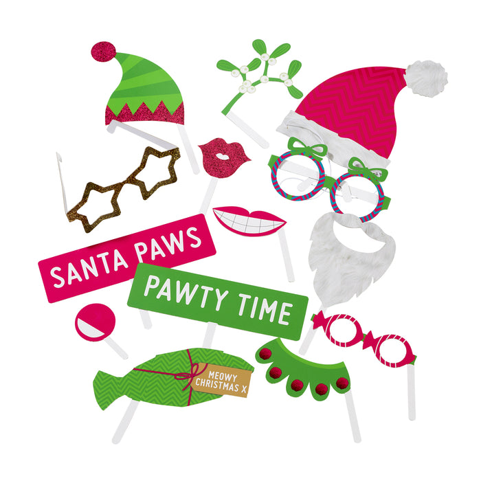 FESTIVE PET PHOTO BOOTH KIT from Flingers Party World Bristol Harbourside who offer a huge range of fancy dress costumes and partyware items